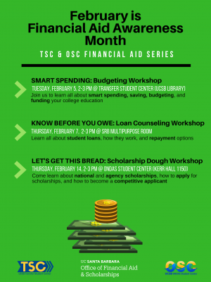TSC & OSC FINANCIAL AID SERIES